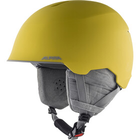 Alpina Maroi Helmet Kids curry-grey matt